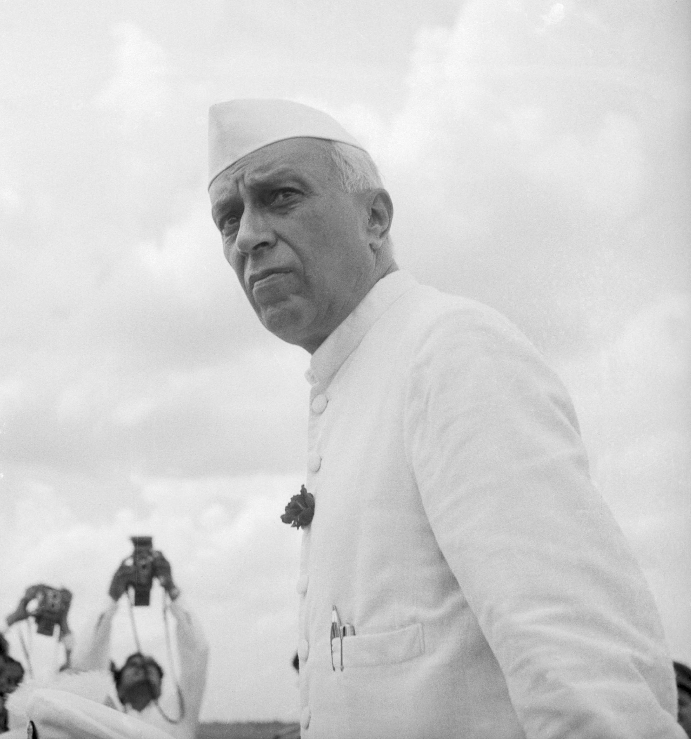 Pandit Jawaharlal Nehru Drawing Minister Jawaharlal Nehru